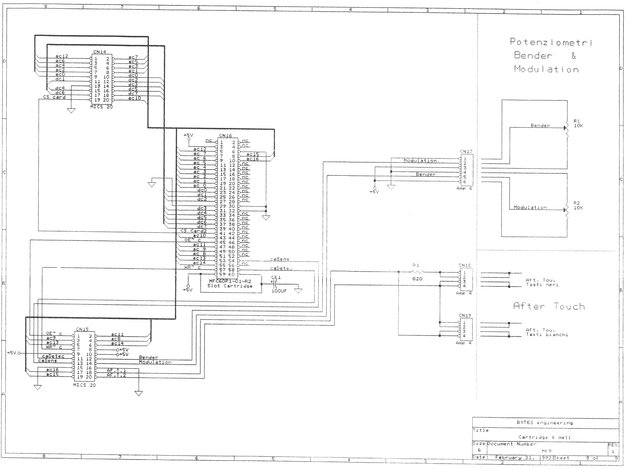 john pallister s lmk3 page shows the connections to the aftertouch sensors
