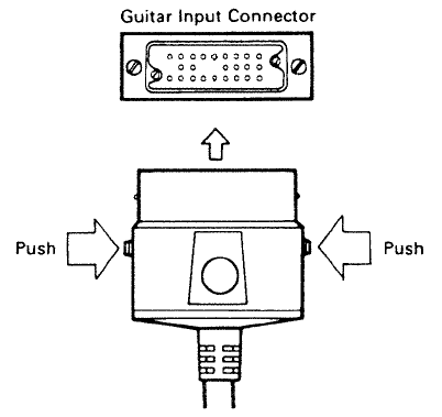 roland 24-pin socket & cable